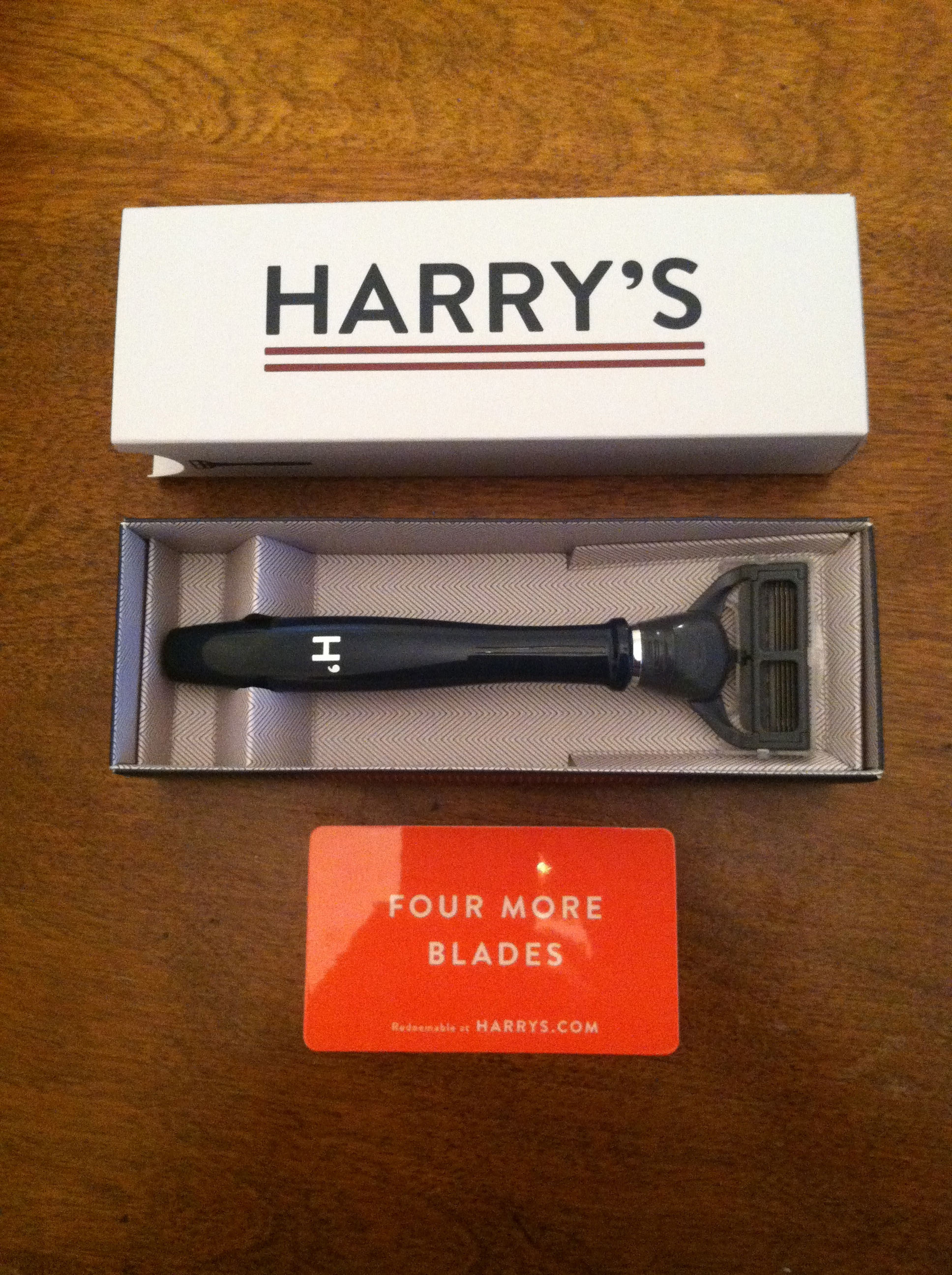 Harrys.com coupon code